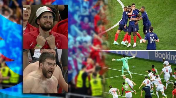 Bilder von Schweizer Fan gehen um die Welt: Jetzt darf er kostenlos zum Viertelfinale
