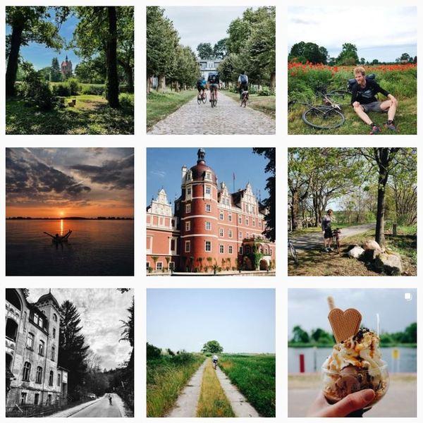 Ein Blick aufs Profil von wecyclebrandenburg - per Klick aufs Bild geht es direkt zum Instagram-Account.