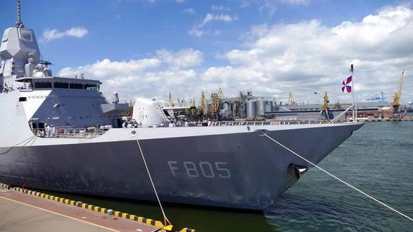 Schwarzes Meer: Niederlande werfen Russland Scheinangriffe gegen Kriegsschiff vor