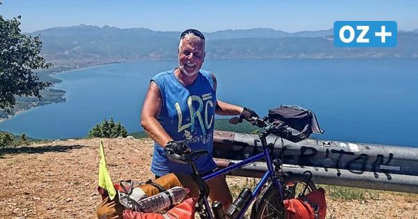 Ende in Griechenland: Extrem-Radler aus Wismar muss große Tour abbrechen