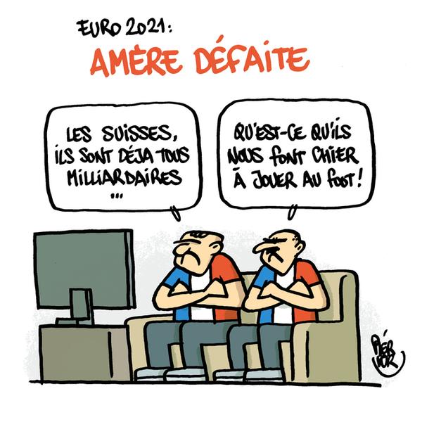 Caricature par Piérick