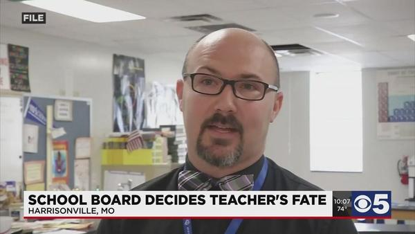 Harrisonville School Board votes on fate of teacher accused of using racial slur | News | kctv5.com