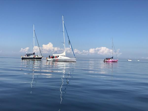 Segelboote vor der Insel Poel (Foto: Steffen Kunze)