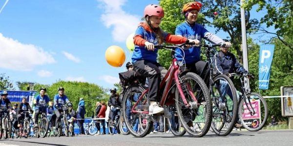 Großer Spaß beim LVZ-Fahrradfest. Foto: Dirk Knofe