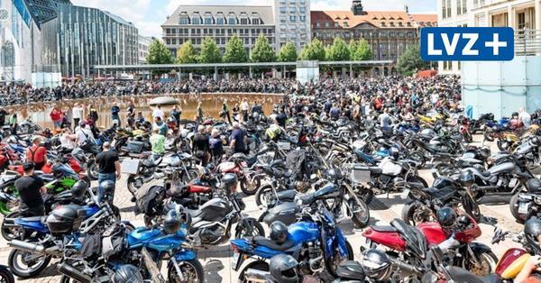 Biker-Demo gegen Fahrverbote in Leipzig: Tausende Motorradfahrer wollen protestieren