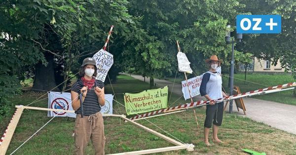 Fußgänger im Holzgestell: Skurrile Gerichtsverhandlung in Greifswald
