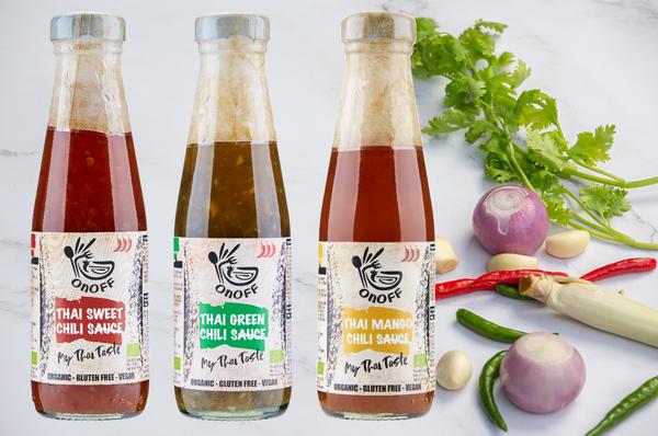 De zomerse sauzen van ONOFF