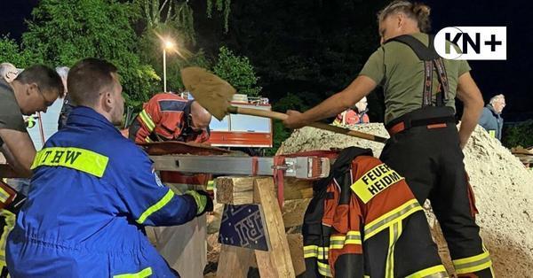 Unwetter mit Starkregen hielt Feuerwehren im Kreis Segeberg in Atem