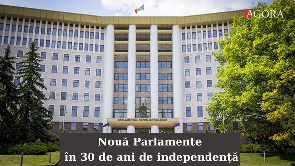 AGORA - Istoria alegerilor parlamentare: Cum s-a schimbat componența Legislativului în 30 de ani de independență