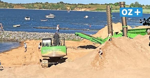 """Bauschutt-Berge am Strand von Devin abgeladen: """"Unglaublich, dass sich noch niemand verletzt hat"""""""