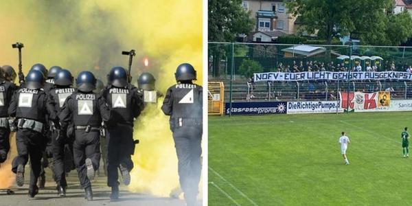 Polizei verhindert Krawalle bei Chemie-Spiel in Leipzig - Dynamo-Fans gefasst