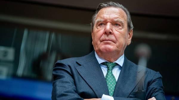 Altkanzler Schröder zum Wahlkampf: Klimaschutz darf nicht über Wirtschaft gestellt werden