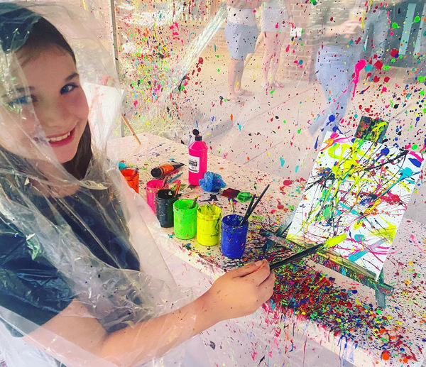 Join Willow Oak tomorrow night during 1st Friday Night Market and step into the Splatter Paint Booth!