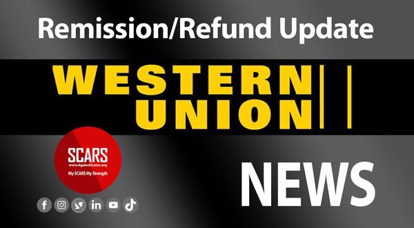 Latest Update On Western Union Repayment Program - June 30 2021 | Victims & Money