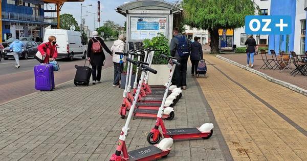 Swinemünde: Darum häufen sich Beschwerden über E-Roller-Fahrer