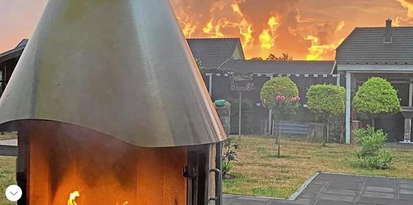 Karlshagen auf Usedom: Brennt hier das Feld? (Foto: Holger Preusche)