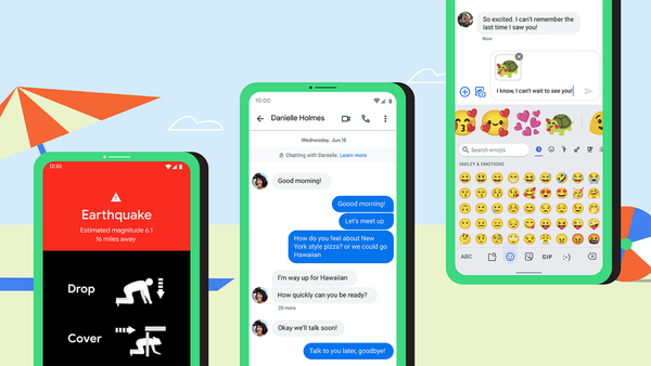 Google Messages beta now allows marking messages as favourites