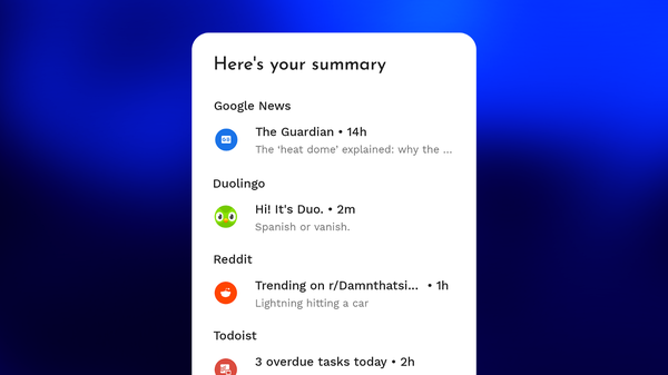 Niagara Launcher started a digital wellbeing initiative implementing a healthy home screen concept