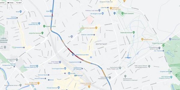 """NP-Umfrage: Was sagen Sie zu den """"Experimentierräumen"""" und Straßensperrungen in Hannover?"""