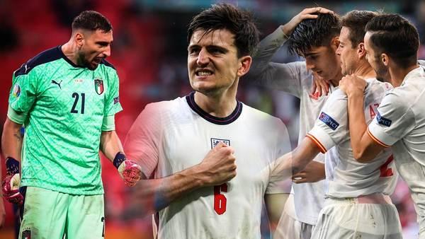 Tore, Schüsse, Ballbesitz: Italien, England und Co. vor Viertelfinal-Start im Zahlen-Check