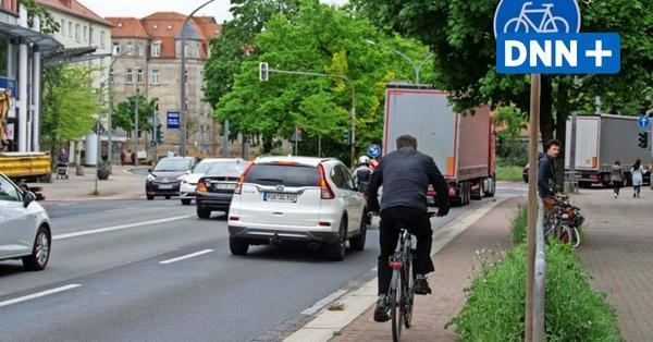 Zu viel Platz fürs Auto: Massive Kritik an Plänen für Ausbau der Nürnberger Straße in Dresden