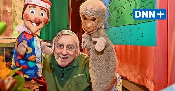 Mich laust der Affe: der Kasper im Zoo Dresden feiert Geburtstag