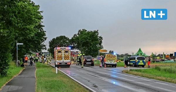 Unfall zwischen Landkirchen und Burg auf Fehmarn: Fünf Personen bleiben unverletzt