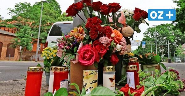 """Tödlicher Unfall in Stralsund: Abschied vom verunglückten Mopedfahrer: """"Danke für die schönen Jahre, dein Schatzi"""""""