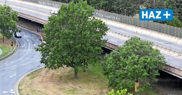 Staugefahr auf dem Messeschnellweg: Weidetorbrücke gesperrt