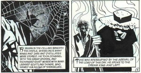 Teddy Kristiansen - Sandman Original Comic Art