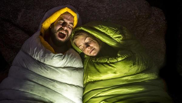 Camping: Im Zelt schläft man besser – jedenfalls meistens