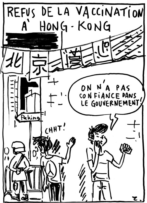 """Caricature par Zombi pour le webzine """"Zébra""""."""