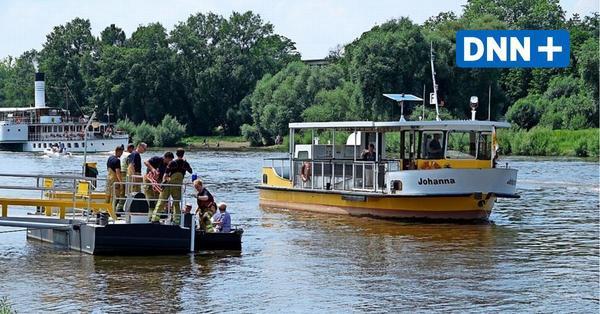 "Elbfähre ""Johanna"" in Dresden mit Motorschaden – Passagiere evakuiert"