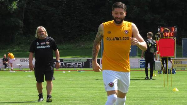 Von Down Under nach Dresden: Brandon Borrello heißt Dynamos neue Frohnatur