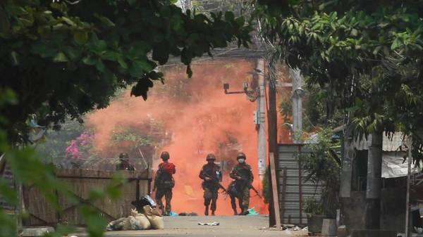 Myanmar: Militär tötet laut Berichten erneut 25 Zivilisten