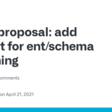 proposal: add support for ent/schema versioning · Discussion #1487 · ent/ent · GitHub
