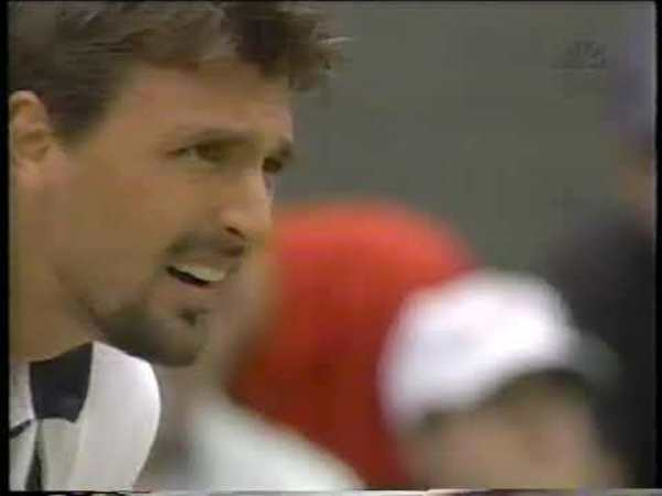 Ivanisevic vs Rafter final Wimbledon 2001