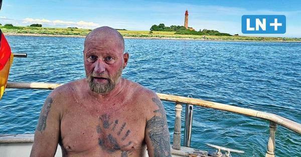 Ullrich-Stegemann schwamm von Hohwacht nach Fehmarn die härteste Etappe