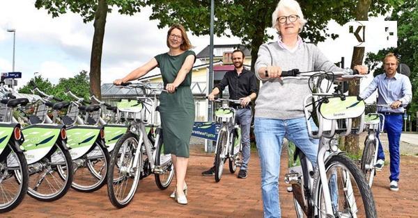 Fahrräder an sechs Stationen – Sprottenflotte schwärmt nach Preetz aus