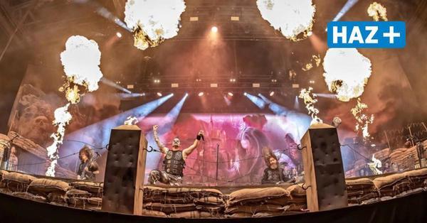 "Hannover: Heavy-Metal-Band ""Sabaton"" spielt in der ZAG-Arena"