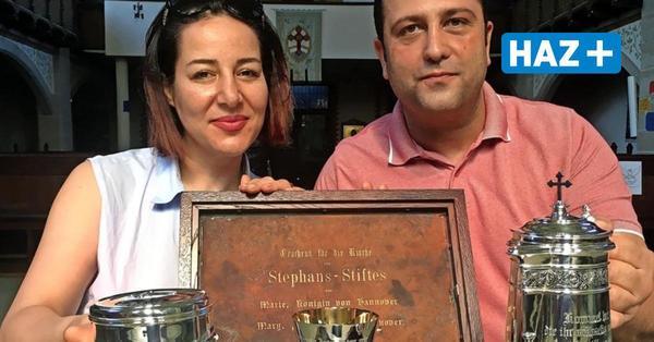 Hannover: Von Königin Marie - Abendmahlsgeräte in Stephansstift erneuert