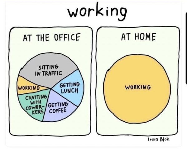 😂 #remoteworking #workingfromhome