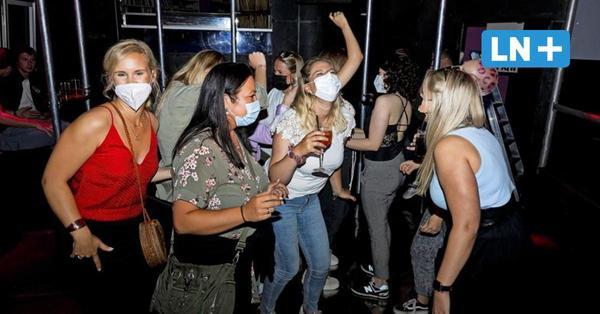 Endlich wieder Club: Tanzen mit Maske – so feiert Lübeck in Corona-Zeiten