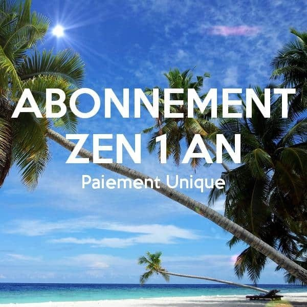 Abonnement Zen 1 An | thailande-fr