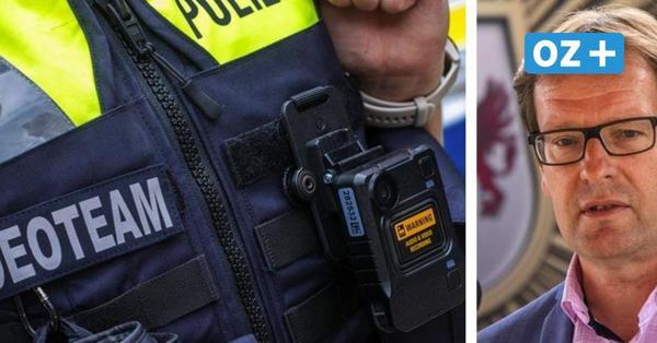 Mehr Schutz für Beamte: Polizei in MV setzt ab sofort Bodycams ein
