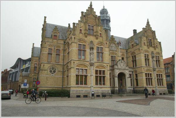 Un avenir incertain pour les tribunaux d'Ypres et du Veurne. -Toekomst rechtbanken Ieper en Veurne onzeker