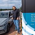Wolfsburg: Mobile Schnellladesäulen von Volkswagen werden abegbaut