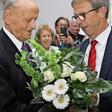 Empfang zum 95. Geburtstag im Schloss Wolfsburg für Ex-VW-Chef Carl H. Hahn