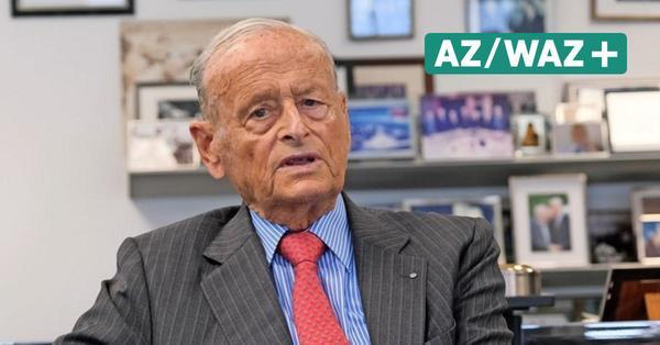 Wolfsburg: Ex-VW-Chef Carl H. Hahn feiert 95. Geburtstag- ein Interview