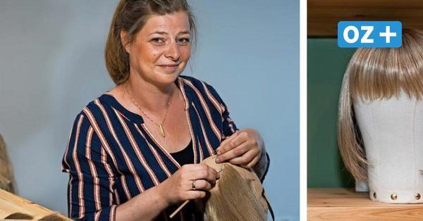 Mit Perücken: Rostockerin Elisa Fritz hilft Krebspatienten zurück ins Leben